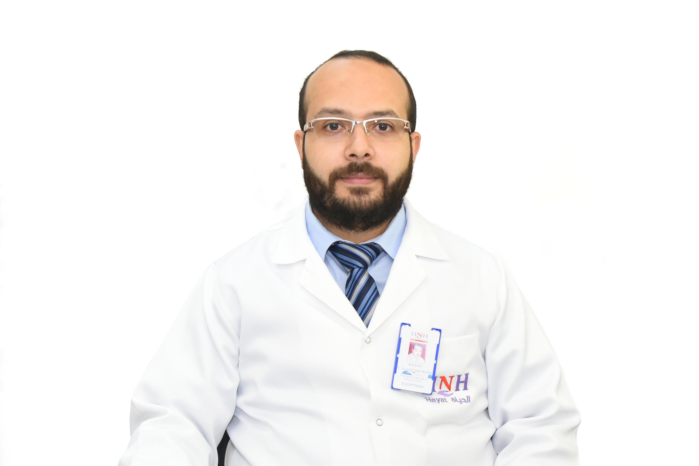 د ۔ السيد صلاح ابراهيم - اخصائي جراحة العظام و مناظير المفاصل