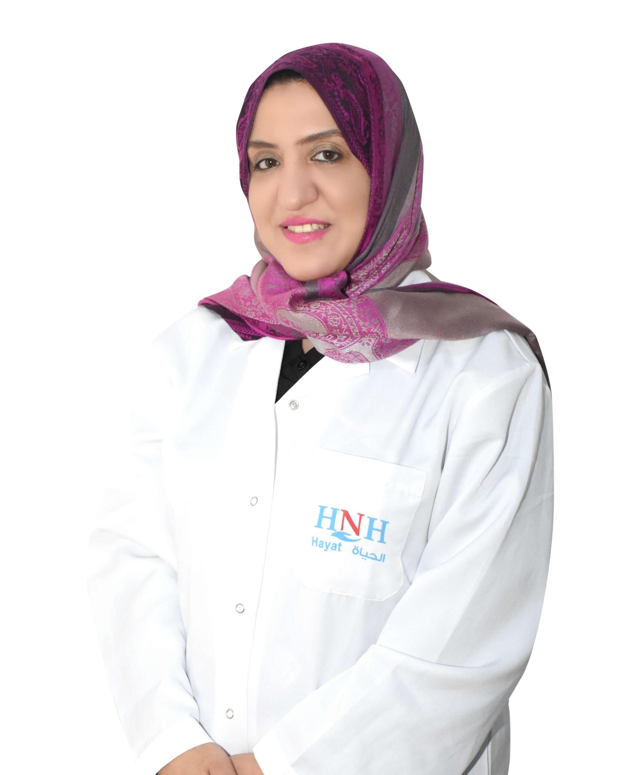 الدكتور - شيماء صالح | طب الاطفال وحديثي الولادة | مستشفى الحياة الوطني |جازان