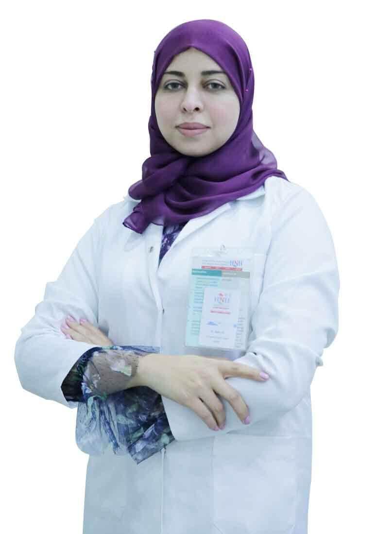 الدكتور - نهى عبد الحميد   أخصائية طب أسنان الاطفال   مستشفى الحياة الوطني القصيم